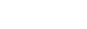 logo of college manor veterinary hospital in newmarket ontario